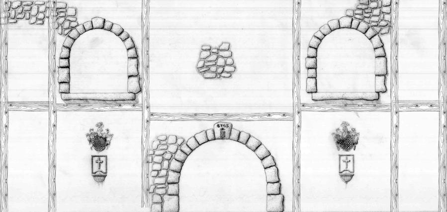 Hallway elevation 3