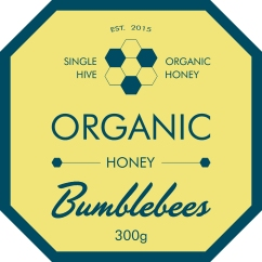 HONEY LABEL HEXAGON